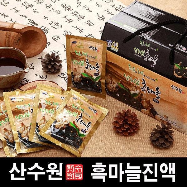 흑마늘즙  남해 흑마늘진액 1박스(30팩) 상품이미지