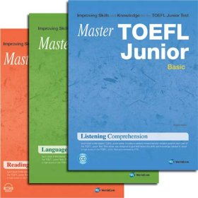 Master TOEFL Junior  Basic/ Intermediate/ Advanced 선택/RC. LC. LFM/토플쥬니어