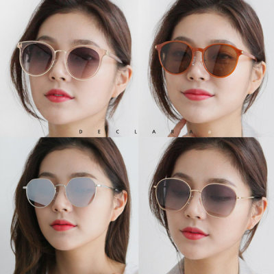 Premium SALE fashion mirror sunglasses/women /9900won~