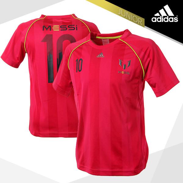 (현대Hmall)아디다스 쥬니어 메시 반팔 티셔츠(F48971) 와인 축구 유니폼 트레이닝 반팔티 상품이미지