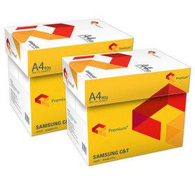 직배송 삼성 A4 복사용지(A4용지) 80g 2박스/더블에이