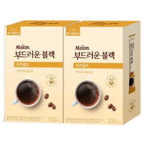 부드러운블랙 모카 100T+100T/커피