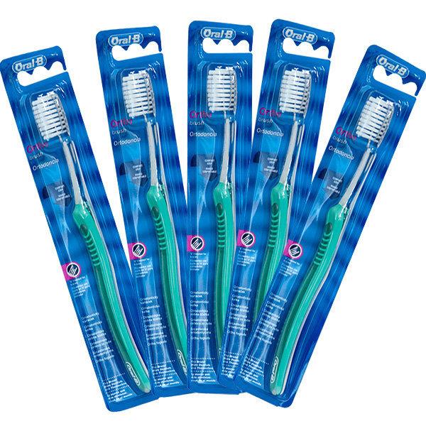 교정용칫솔 5개 Oral-B V컷 상품이미지