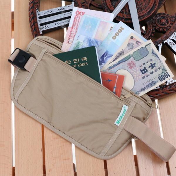 웰하우스 안전지갑 여권지갑 허리가방 복대 여행용품 상품이미지