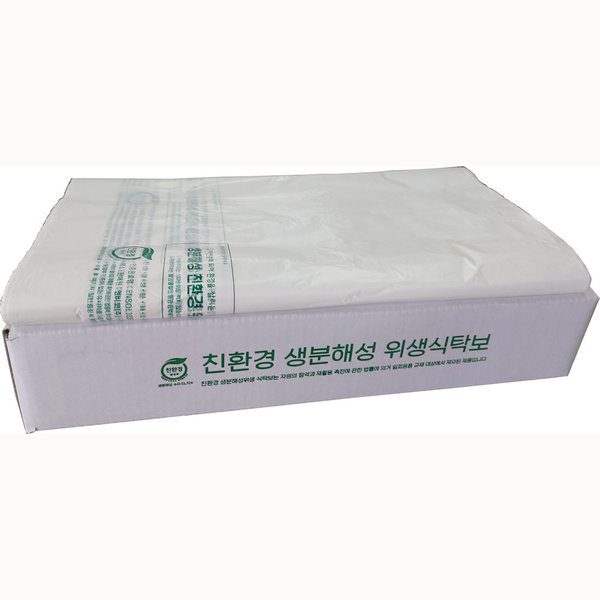 친환경식탁보일반형250매/상종이/상보/생분해성식탁보 상품이미지