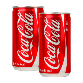 Coca Cola 185mlX30 cans/free Shipping in Korea/cider/carbonated drinks