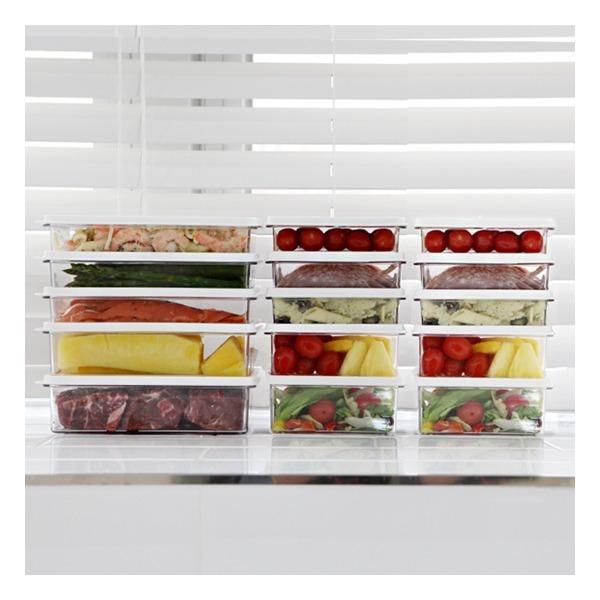 시스템 소분용기 기본형 D세트 /냉장고정리 상품이미지