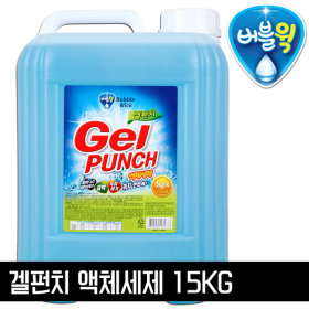Gel Punch Highly concentrated liquid detergent 14kg large bucket laundry detergent