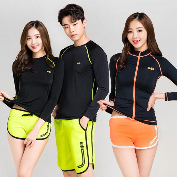 비치웨어 커플래시가드 비치웨어 수영복 워터레깅스 상품이미지