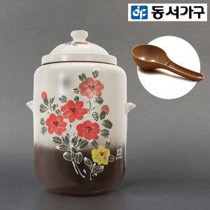친환경 황토 쌀독항아리 쌀통 20kg +사은품 DFI04355