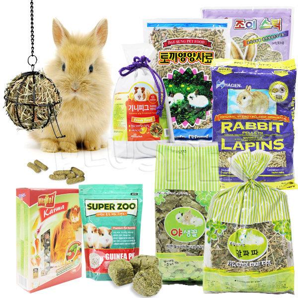 국내산 저렴한 토끼/기니피그사료//토끼먹이/건초/hay 상품이미지
