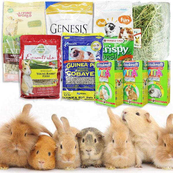국내외고급 기니피그사료/토끼사료/옥스보건초/티모시 상품이미지