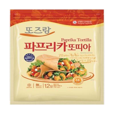 남향푸드또띠아--냉동 파프리카8호 1봉(12장) 상품이미지