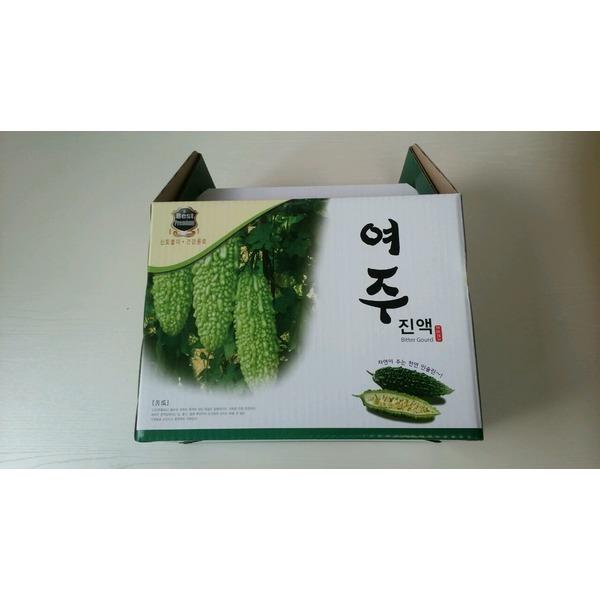 여주즙 100ml 50포/고야/비터멜론/국내산/무료배송 상품이미지