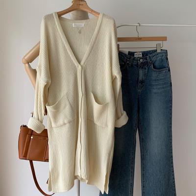APRICOT/Summer New Arrivals/Knit Cardigan/Woman/Linen