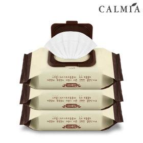 CALMIA 오트밀 테라피 클렌징티슈120매(520g) 3개