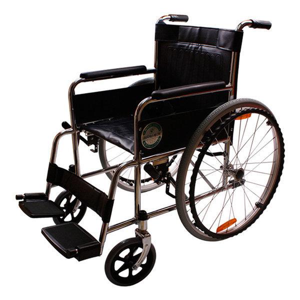 휠체어 DSM-S24 스틸휠체어 수동휠체어 환자용 상품이미지