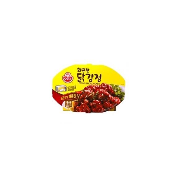 오뚜기 화끈한 닭강정180g(렌지)국산닭사용/안주/간 상품이미지
