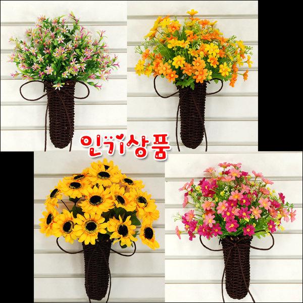 지끈바구니걸이장식/조화/액자/꽃장식 상품이미지