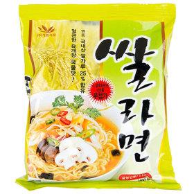쌀라면(20개)/새롬/우리밀/국내산/김치라면/감자라면