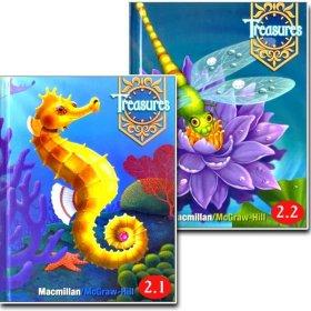 Treasures Grade 2.1 / 2.2 선택 Student book/미국교과서
