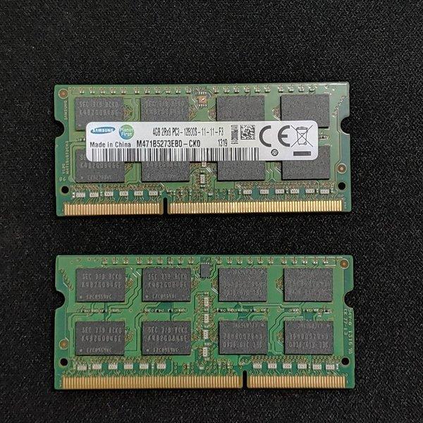 삼성전자 노트북DDR3 4G PC3-12800(저전력아님 1.5v) 상품이미지