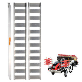 농기계 운반용 상하차용 알루미늄 사다리 8자 1톤