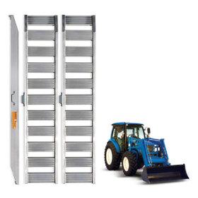 농기계 운반용 상하차용 알루미늄 사다리 8자 3.5톤