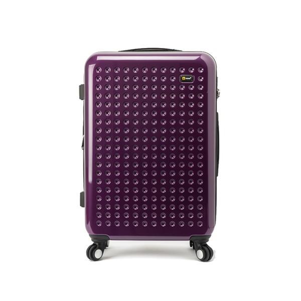 에다스 캐리어 EP-304 25사이즈 퍼플 여행가방 상품이미지