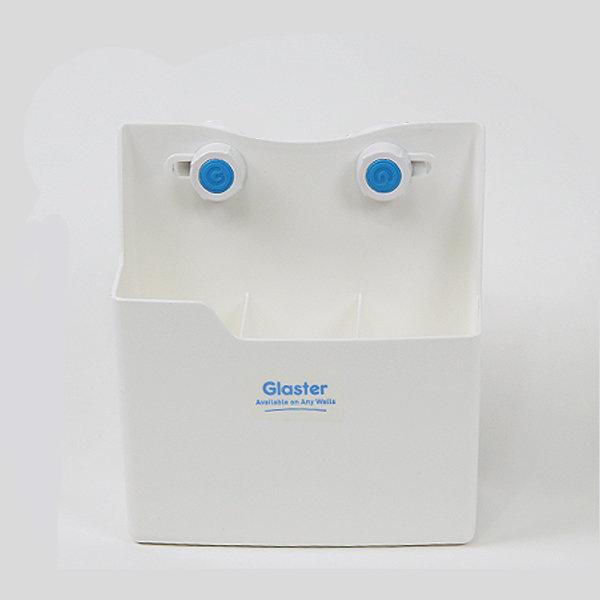 글라스터 정리함 3kg 흡착정리함 치약통 흡착식 욕실 상품이미지