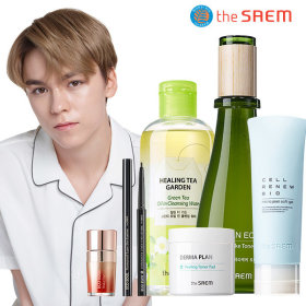 [theSAEM] Cosmetics collection / skin care product / foundation / eyeliner / lipstick / blush /