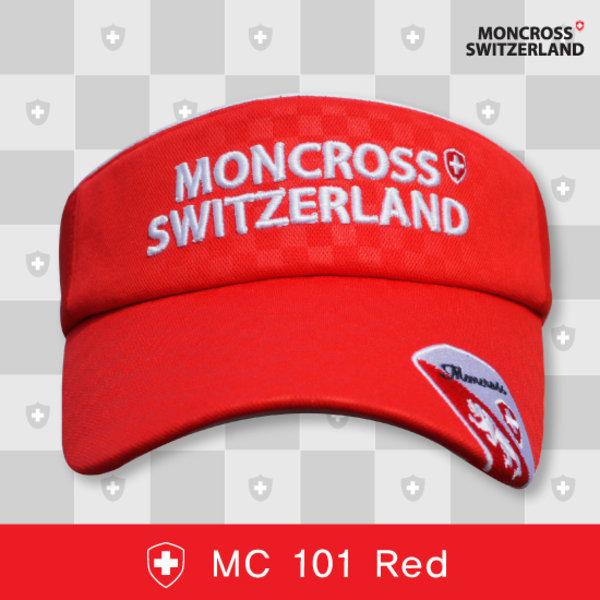 (태양낚시)몽크로스 낚시모자 썬캡 MC101 레드/여름 상품이미지