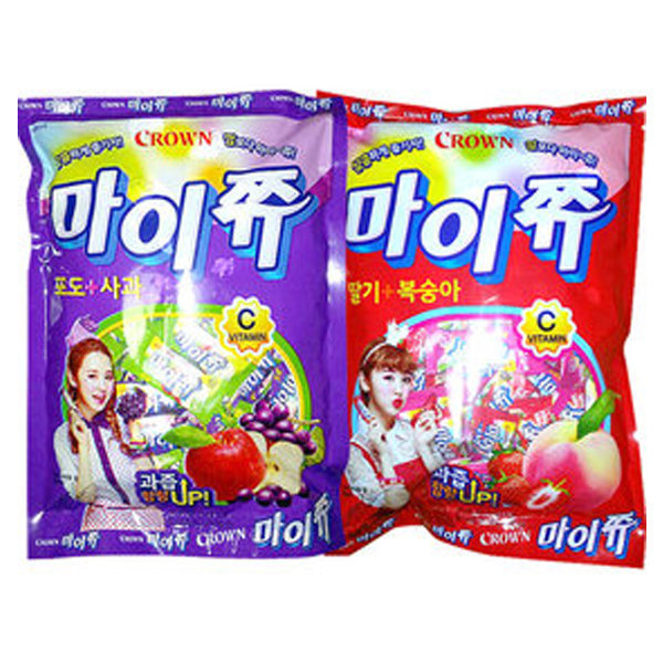 Gmarket Malang Cow My Chew Throat Candy Crunch Ball Crispy Candy Saekom Dalkom