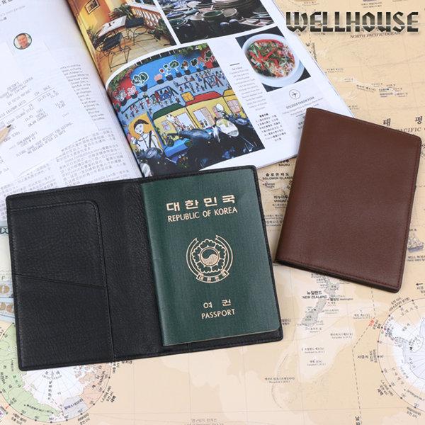 웰하우스 여권케이스 (천연소가죽.장어가죽) 여권지갑 상품이미지
