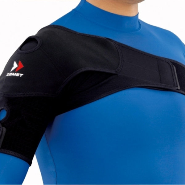 Shoulder Wrap 숄더랩 어깨보호대 검정 1개입 상품이미지