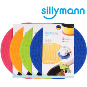 [sillymann] Silicone saucepan mat / multi-purpose / heat n cold resistant / hygienic /