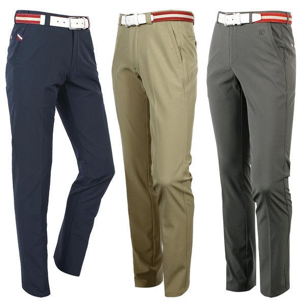 남성 골프바지 기모바지 골프웨어 허리조절밴딩 스판 상품이미지