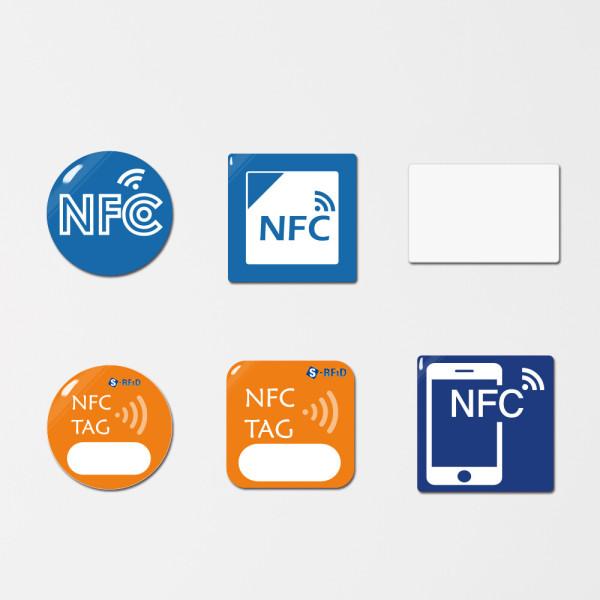NFC태그 메탈 스티커 칩 라벨 카드 인쇄 제작 상품이미지