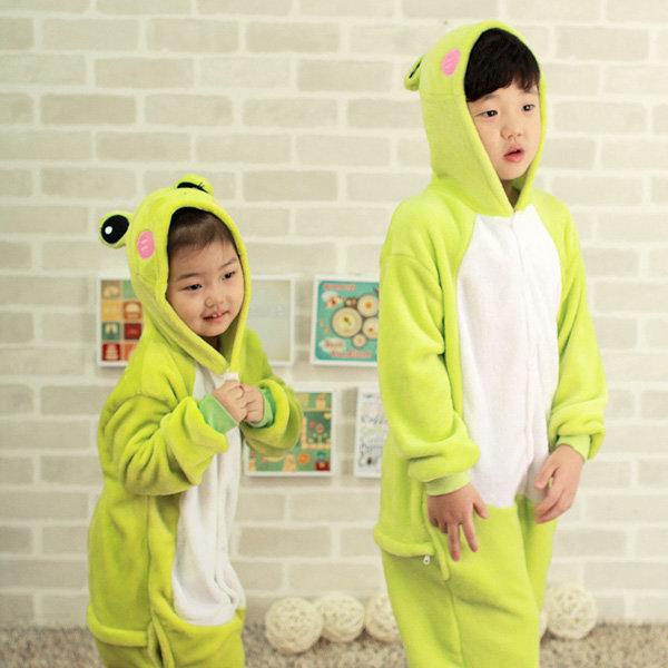 G개구리 어린이캐릭터동물잠옷 아동코스프레 유아반티 상품이미지