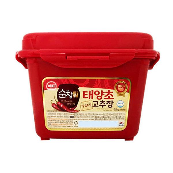 해표 순창궁 태양초 고추장 4.5kg/6.5kg/햅쌀/업소용 상품이미지