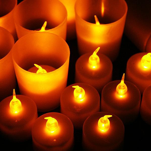 LED 티라이트 10p 캔들 촛불 취침등 전자양초 램프 상품이미지