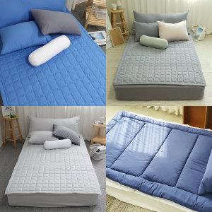 (이룸앤) 밀림방지 더 푹신한 침대패드/토퍼/침대매트