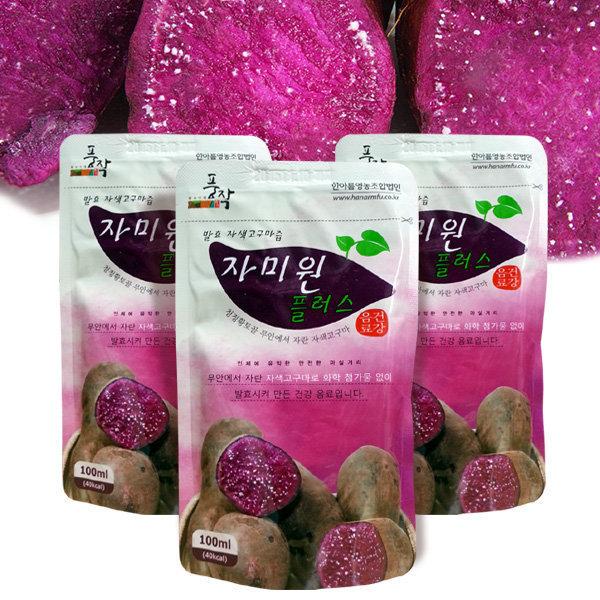 자미원 풍작 자미원플러스 30포/자색고구마즙 상품이미지