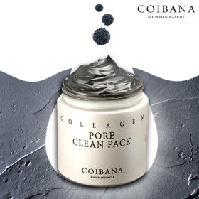 [COIBANA] Collagen Pore Clean Pack / removes blackheads and sebum /