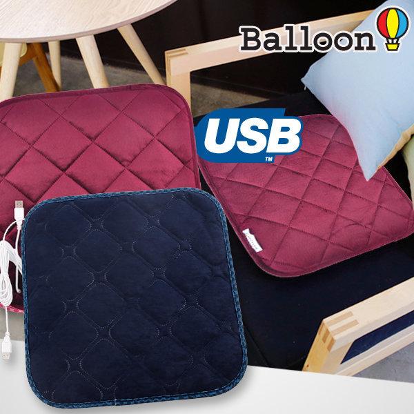 국내제작 BALLOON 카본 USB 전기방석/전자파NO/저전력 상품이미지
