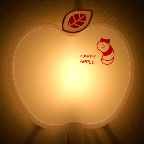 LAMPDA happy 애플 벽등 (화이트) 취침등 조명 수유등 상품이미지