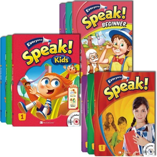Everyone Speak Kids/Everyone Speak Beginner/Everyone Speak 1.2.3단계 선택가능 상품이미지