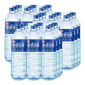 Dongwon mineral water 2L x 9 bottles x 3 packs(total 27 bottles)/mineral water