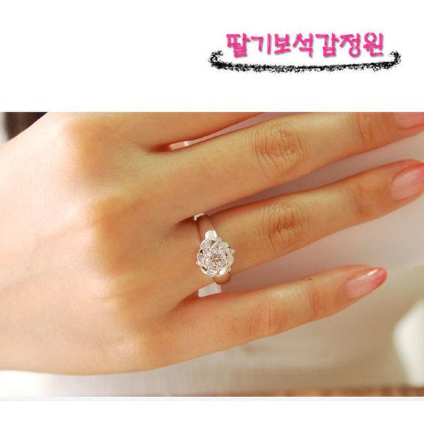 당일발송 예쁜 7부 프로포즈 선물용 다이아몬드 반지 상품이미지