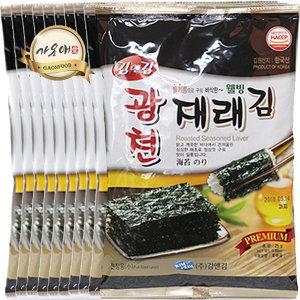 대박특가 광천김 1박스 전장 도시락김 김자반 파래김